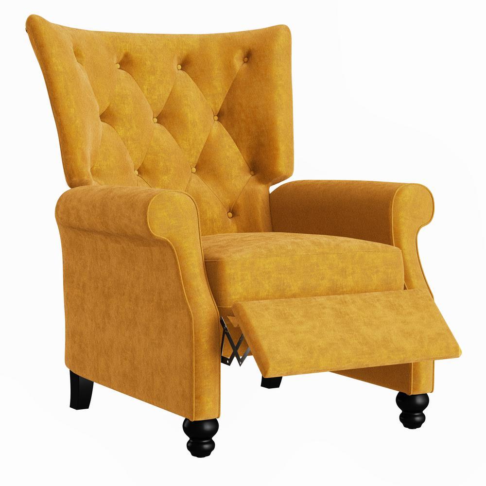ProLounger Mustard Gold Velvet Push Back Recliner was $449.99 now $309.99 (31.0% off)