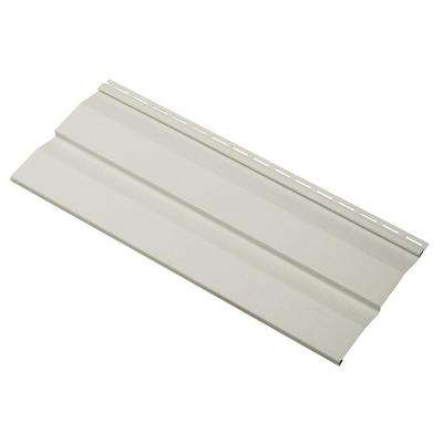 Transformations Double 4.5 in. x 24 in. Dutch Lap Vinyl Siding Sample in Mist