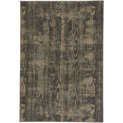 Kevin O'Brien Thicket Coal 5 ft. 3 in. x 7 ft. 6 in. Area Rug