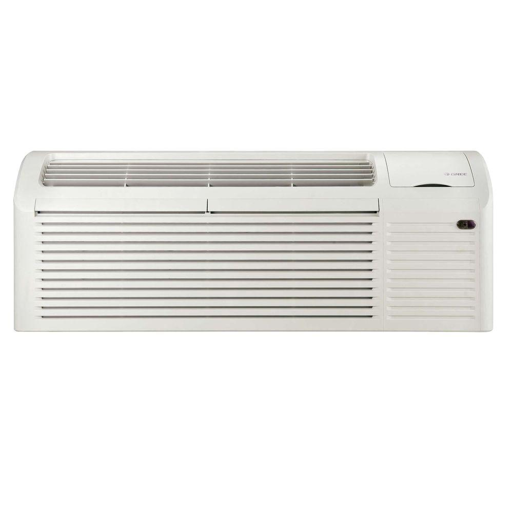 GREE 7,000 BTU Packaged Terminal Air Conditioning (0.6 Ton) + 3 kW Electrical Heater (11 EER) 265V