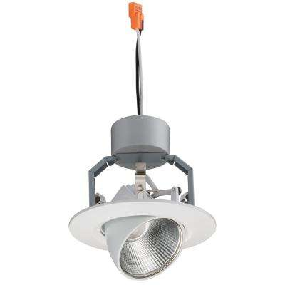 4 in. Matte White 3000K Recessed Adjustable Gimbal Module  sc 1 st  The Home Depot & FCC Listed - Lithonia Lighting - The Home Depot