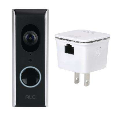 SightHD Wired Video Door Bell Kit with 1080p Full HD Wi-Fi Camera and a Wi-Fi Repeater