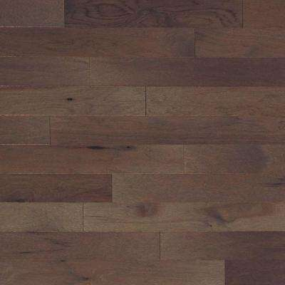 Brushed Vintage Hickory Pewter 3/4 in. Thick x 4 in. Wide x Random Length Solid Hardwood Flooring (21 sq. ft. / case)