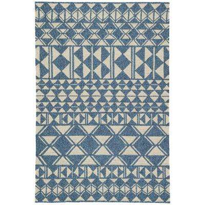 Wood Ash 2 ft. x 3 ft. Tribal Indoor/Outdoor Area Rug