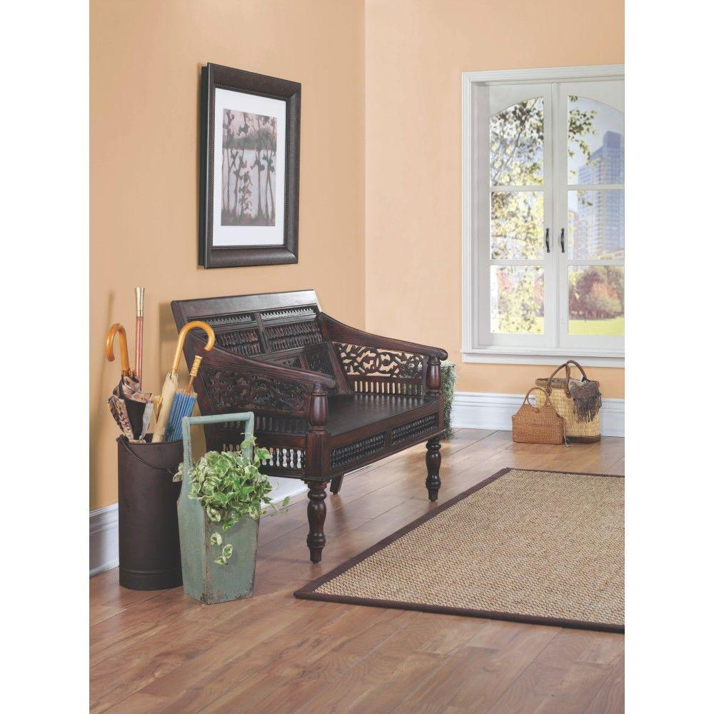 Home Decorators Collection Maharaja Walnut Side Chair