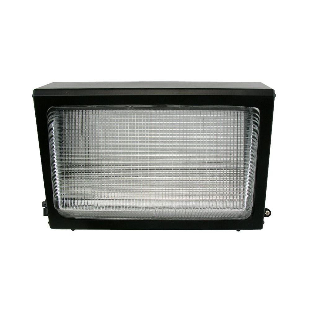 Max Lite 1-Light Outdoor Bronze LED Wall Light