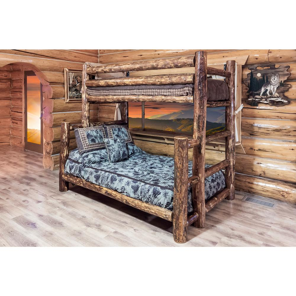 Montana Woodworks Glacier Country Twin Over Full Wood Bunk Bed