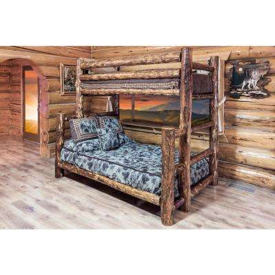 Glacier Country Twin Over Full Wood Bunk Bed