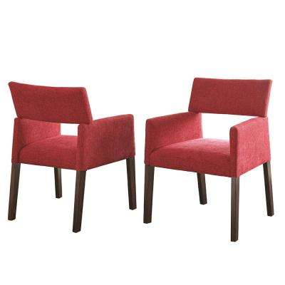 Amalie Red Side Chair (Set of 2)
