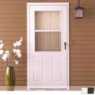 200 Series 1 2 View Self Storing Storm Door