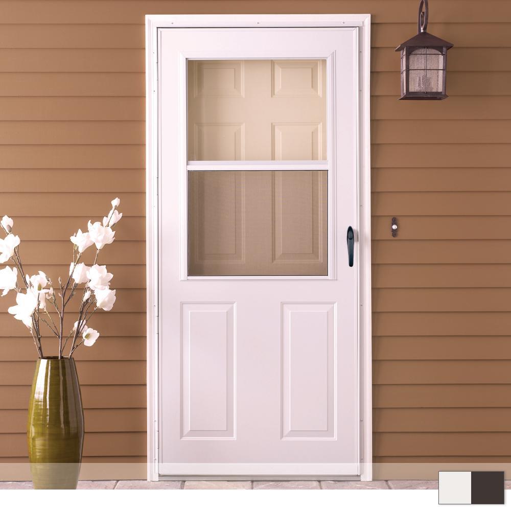 200 Series 1 2 View Self Storing Storm Door
