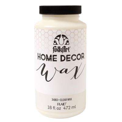 Home Decor 16 oz. Clear Wax Finish