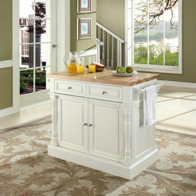 Oxford White Kitchen Island