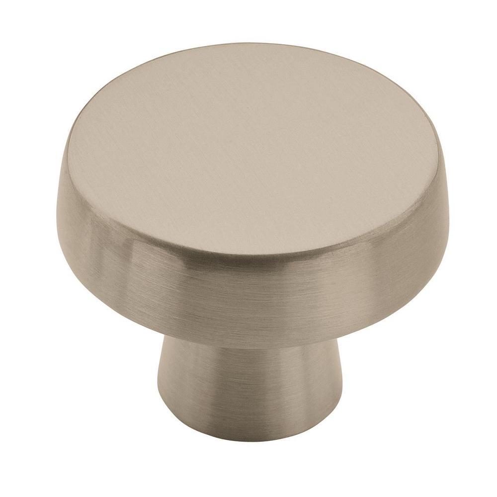 Amerock Blackrock 1-5/8 in (44 mm) Diameter Satin Nickel Cabinet Knob