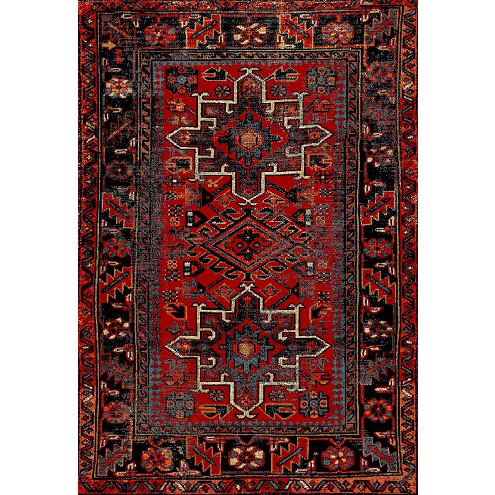 Vintage Home Rug: Safavieh Vintage Hamadan Red/Multi 7 Ft. X 9 Ft. Area Rug