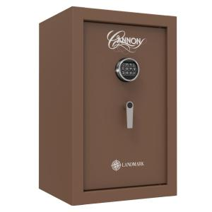 Cannon Landmark Series 6.7 cu. ft. Electronic Lock Security Drop Safe in Brown with 60 Min. Fire Rating by Cannon