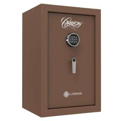 Landmark Series 3.8 cu. ft. Electronic Lock Security Drop Safe in Brown with 60 Min. Fire Rating