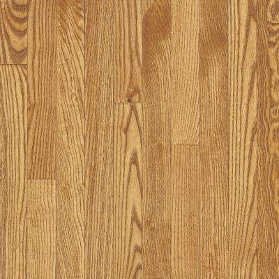 Bayport Oak Seashell 3/4 in. Thick x 2-1/4 in. Wide x Varying Length Solid Hardwood Flooring (20 sq. ft. / case)