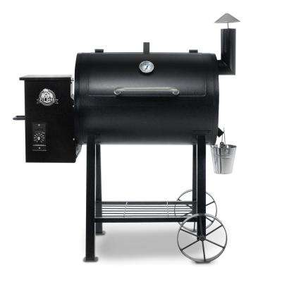 820FB Pellet Grill in Black