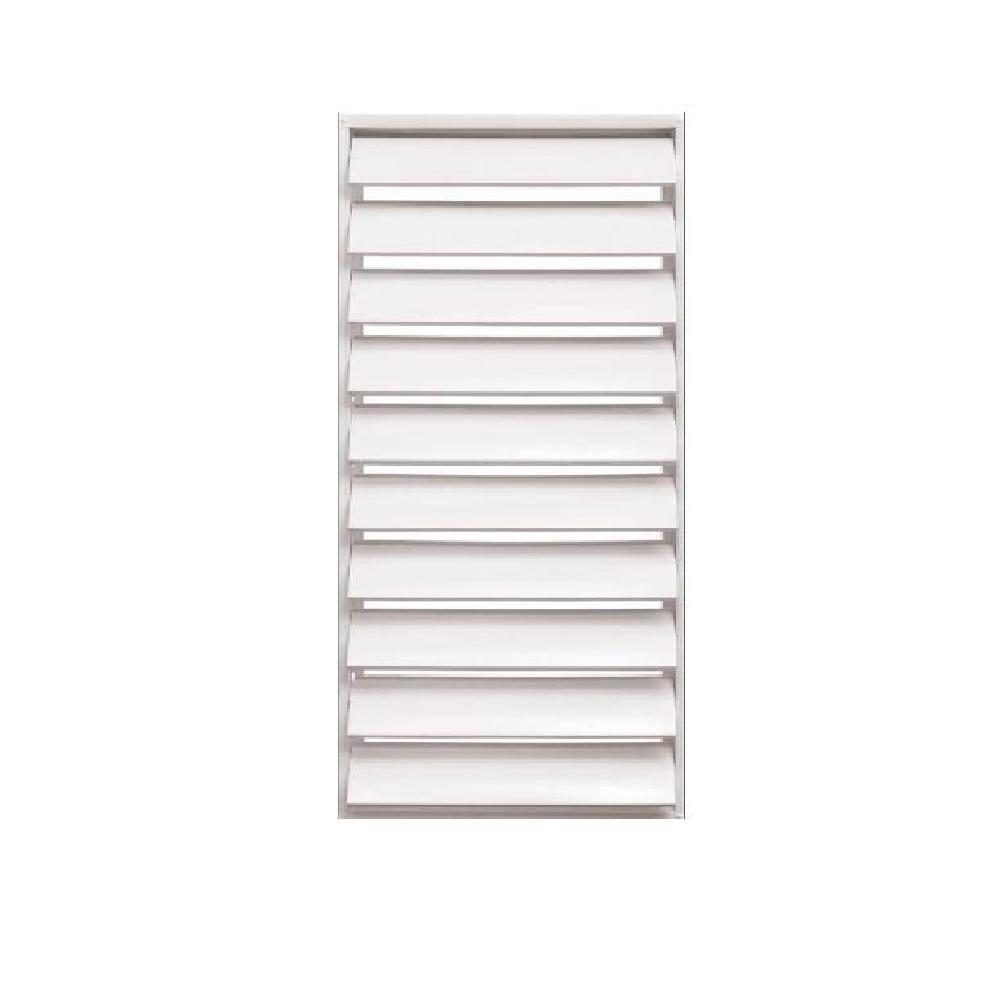 24 in. x 48.875 in. Titan Light Duty Louver Aluminum Window