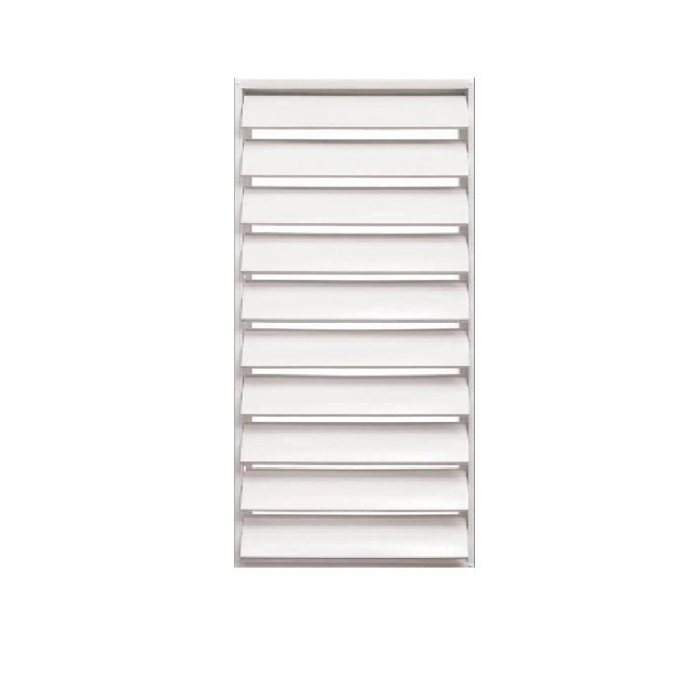 24 in. x 48.875 in. Titan Heavy Duty Louver Aluminum Window