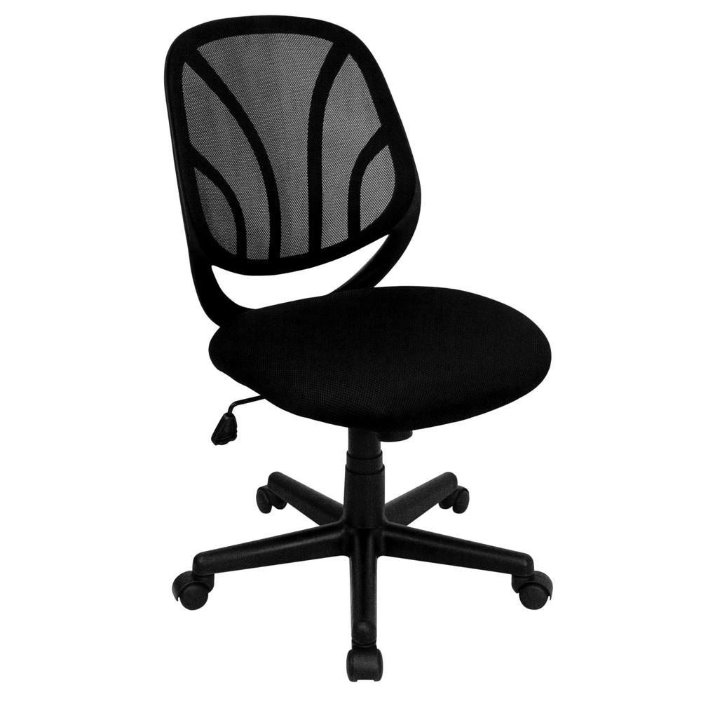 Flash Furniture Black Office/Desk Chair CGA-GO-1654-BL-HD
