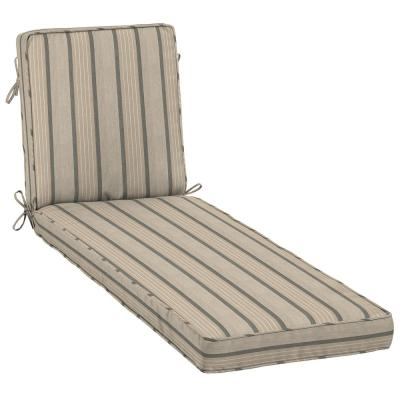 23 x 80 Sunbrella Cove Pebble Outdoor Chaise Lounge Cushion