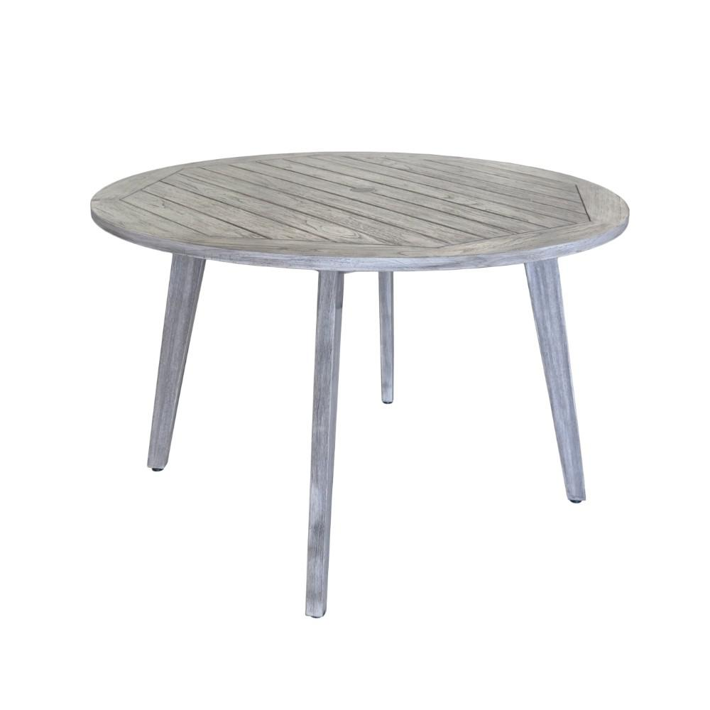 Courtyard Casual La Jolla Collection Teak Outdoor Dining Table With