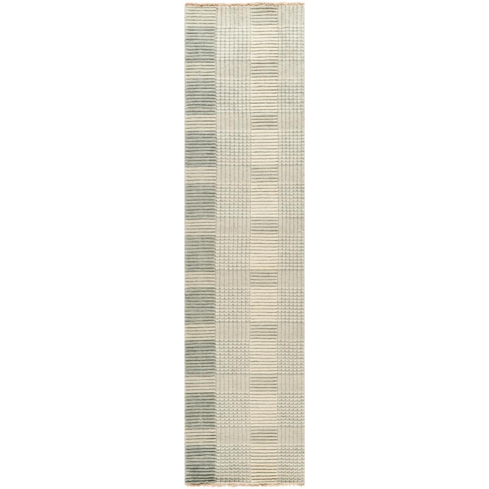 Tibetan Gray 2 ft. x 8 ft. Runner Rug