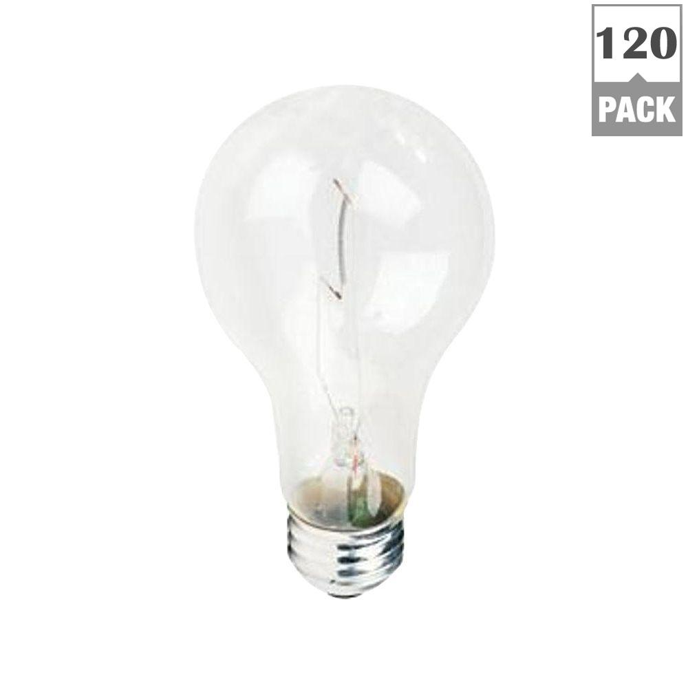Philips 69 Watt A21 Incandescent 130 Volt Clear Traffic Signal Light Bulb 120