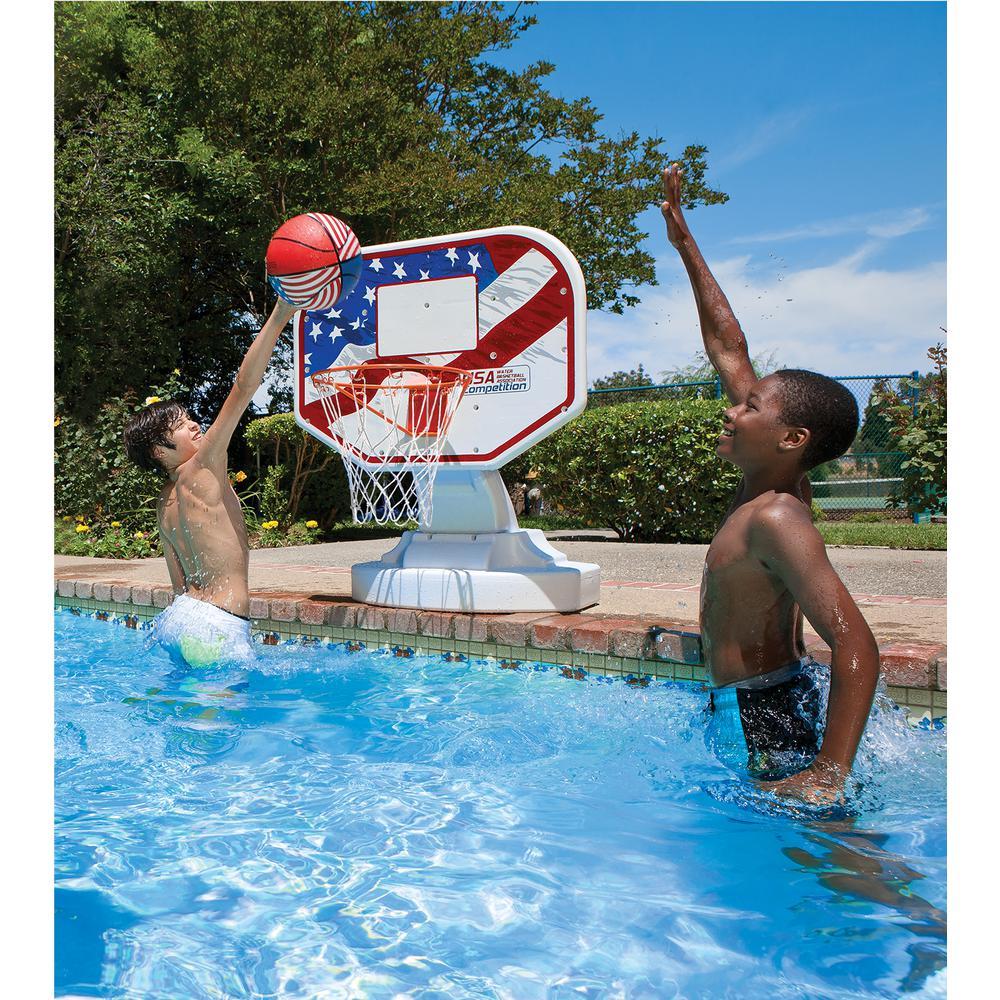 Poolmaster USA Competition Swimming Pool Basketball Game
