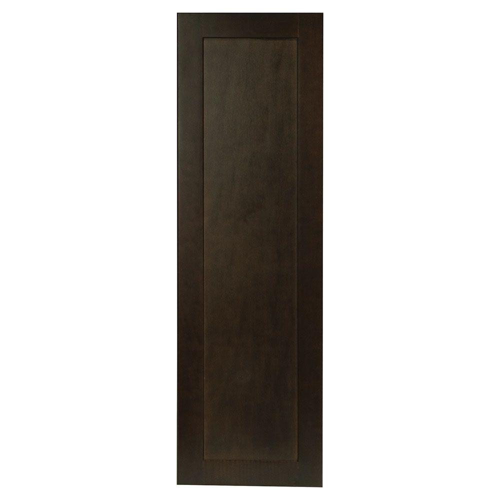 H&ton Bay 0.75x35.25x10.94 in. Shaker Wall Cabinet Decorative End Panel  sc 1 st  The Home Depot : shaker wall cabinet - Cheerinfomania.Com