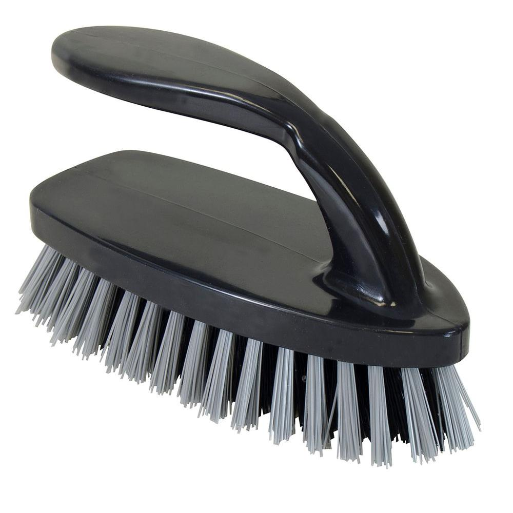 All-Purpose Scrub Brush with Iron-Handle