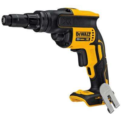 20-Volt MAX XR Lithium-Ion Cordless Screwgun with Adjustable Torque (Tool-Only)