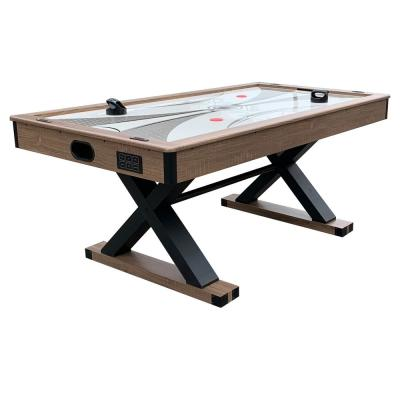 6 ft. Excalibur Air Hockey Table with Table Tennis Top