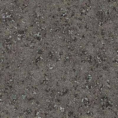 2 in. x 2 in. Solid Surface Countertop Sample in Graylite