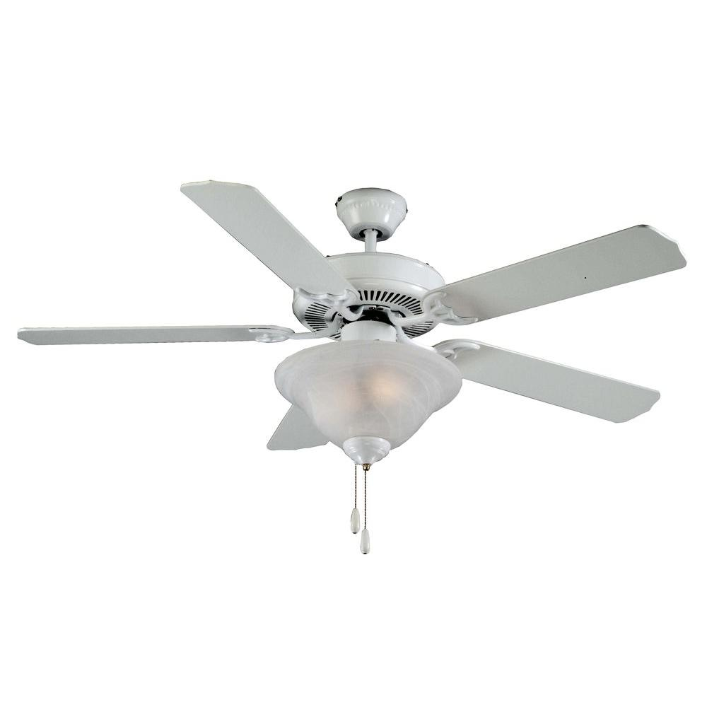 Royal Pacific 2-Light Fan White Blades White Finish-DISCONTINUED
