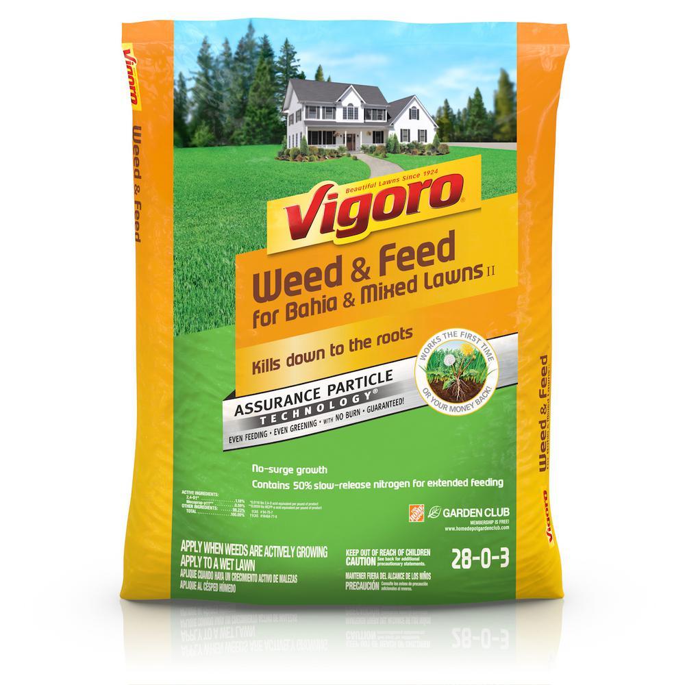 Vigoro weed and feed