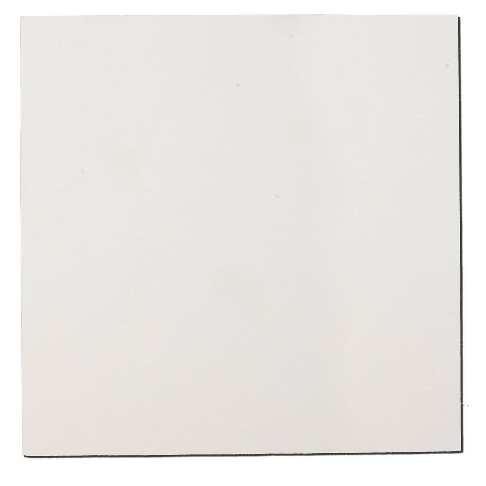 Paintable White Fabric Square 24 in. x 24 in. Sound Absorbing