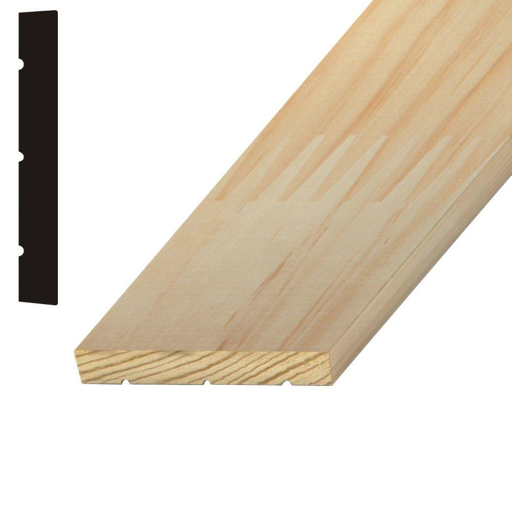 Builders choice 11 16 in x 5 1 4 in x 96 in finger for Finger joint wood doors