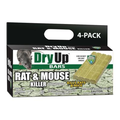 Dry Up Rat and Mouse Killer Bars (4-Pack)