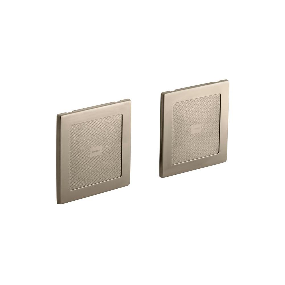 SoundTile 35-Watt High-Fidelity Wall-Mount Speakers (Pair) - Brushed Bronze