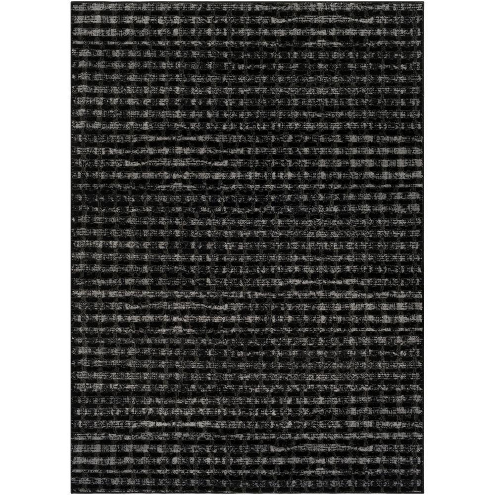 Amadeo Black 5 ft. x 7 ft. Indoor Area Rug