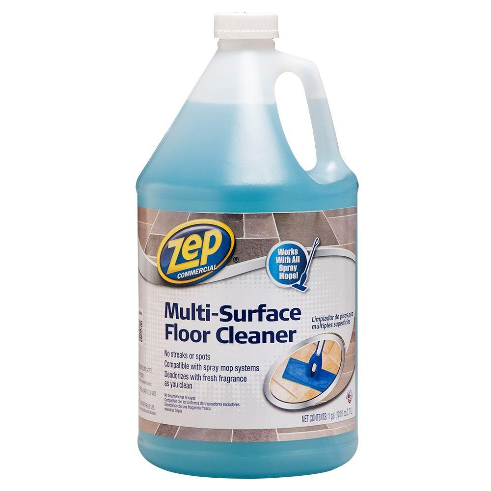 ZEP 128 oz. Multi-Surface Floor Cleaner-ZUMSF128 - The Home Depot