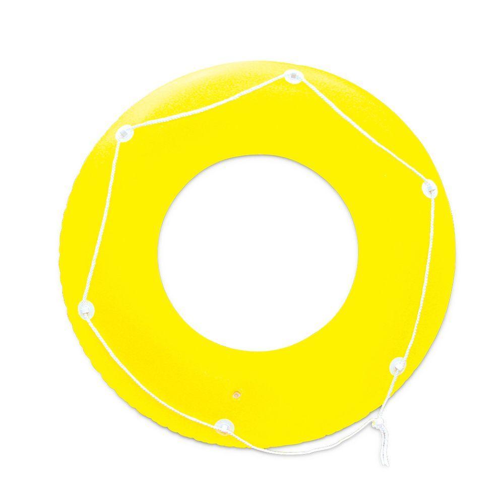 Yellow Neon Frost Swim Tube