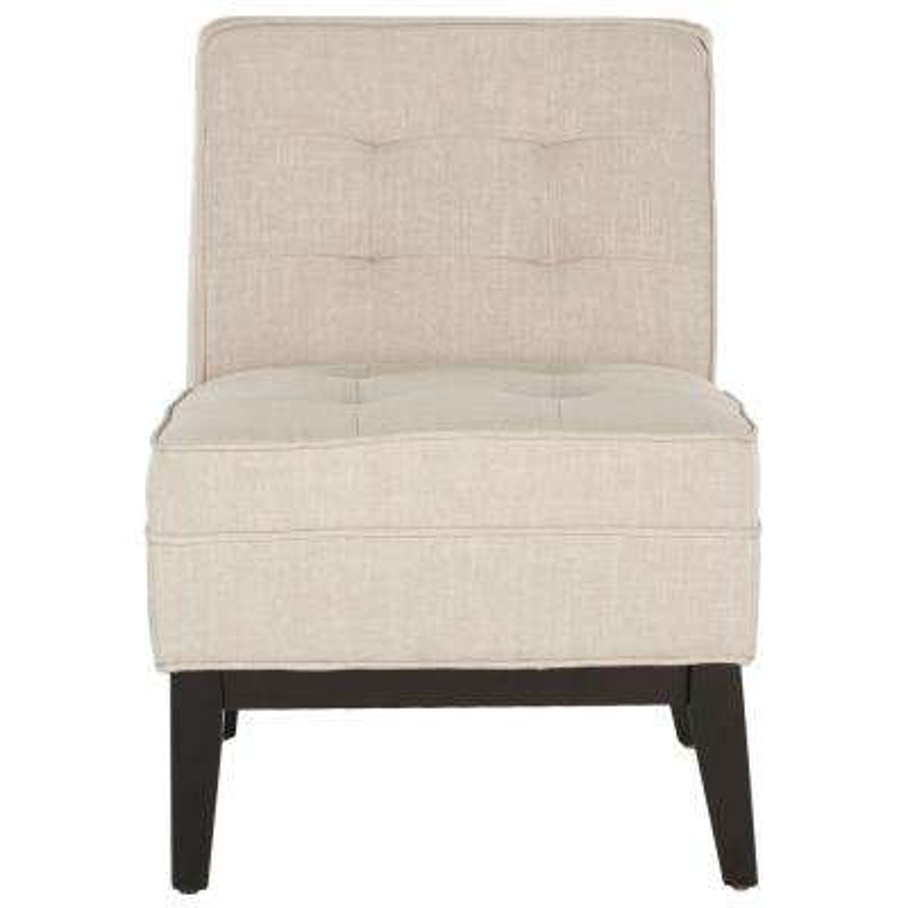 Angel Linen Slipper Chair