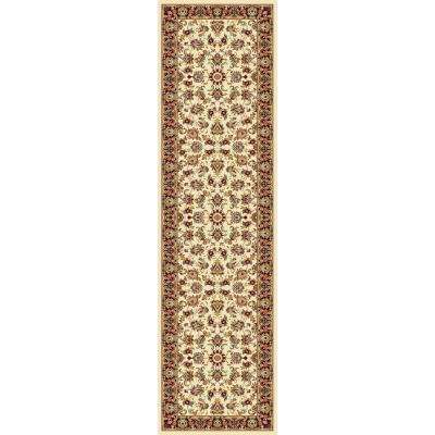 Williams Collection Ararat Ivory 2 ft. 2 in. x 7 ft. 10 in. Rug Runner