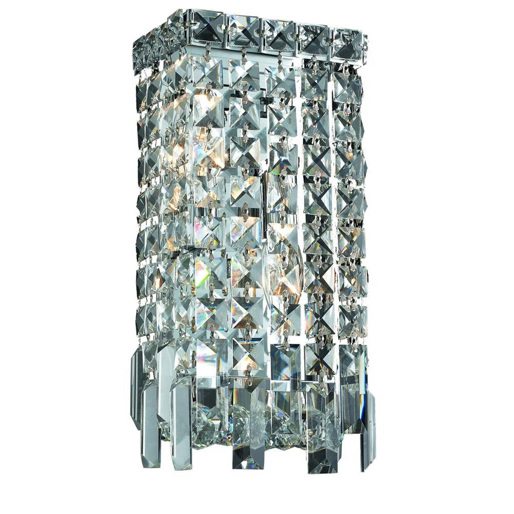 crystal style pin wide sconce bronze sconces iron leaf and wall