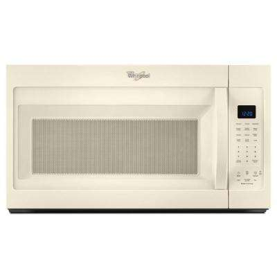 30 in. W 1.9 cu. ft. Over the Range Microwave Hood in Biscuit