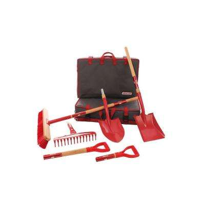 Interchangeable Garden Tool Set (9-Piece)